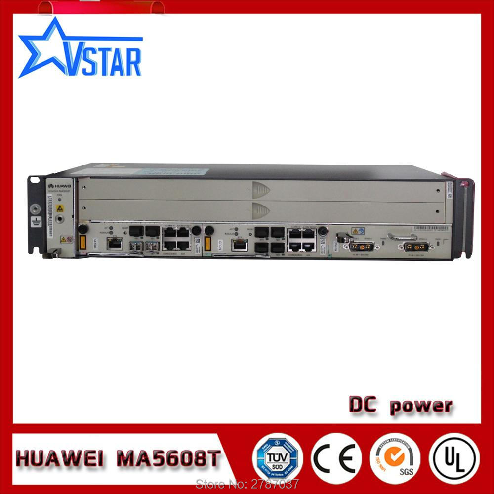 Communication Equipments Mini Olt Ma5608t Hua Wei Original Gpon Olt,dc Power Supply With One Gpbd B+sfp