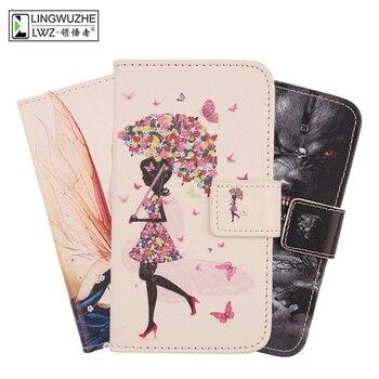 Перейти на Алиэкспресс и купить Для Oukitel WP2 Чехол 6 дюймов Роскошный кожаный чехол-книжка с бумажником чехол мобильного телефона чехол для телефона для Oukitel WP2, коксовое покр...