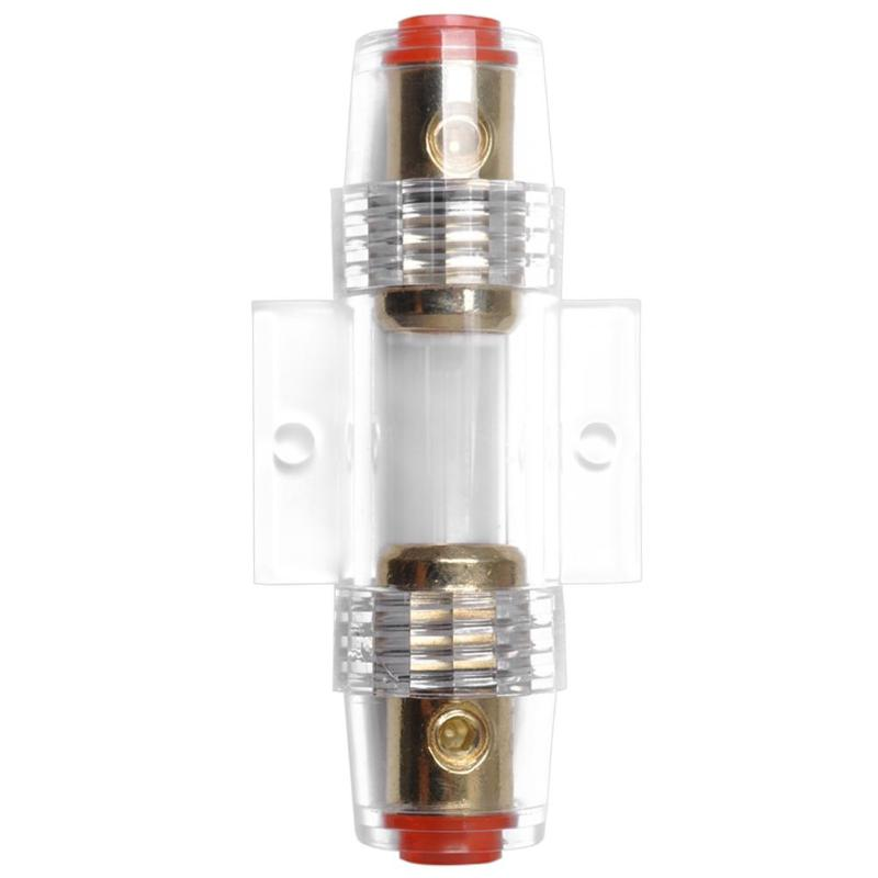 4 8 Gauge Inline AGU Fuse Holder for Car Truck Marine Audio Amp Amplifier in Fuses from Automobiles Motorcycles
