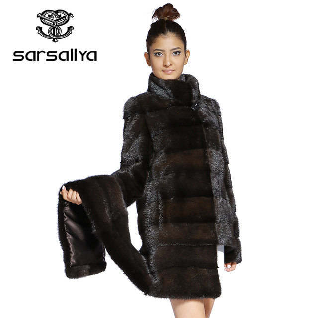 Real Fur Coat Mink Women Winter Natural Fur Mink Coats And Jackets Female Long Warm Vintage Women Clothes 2019 Plus Size 6XL 7XL 54