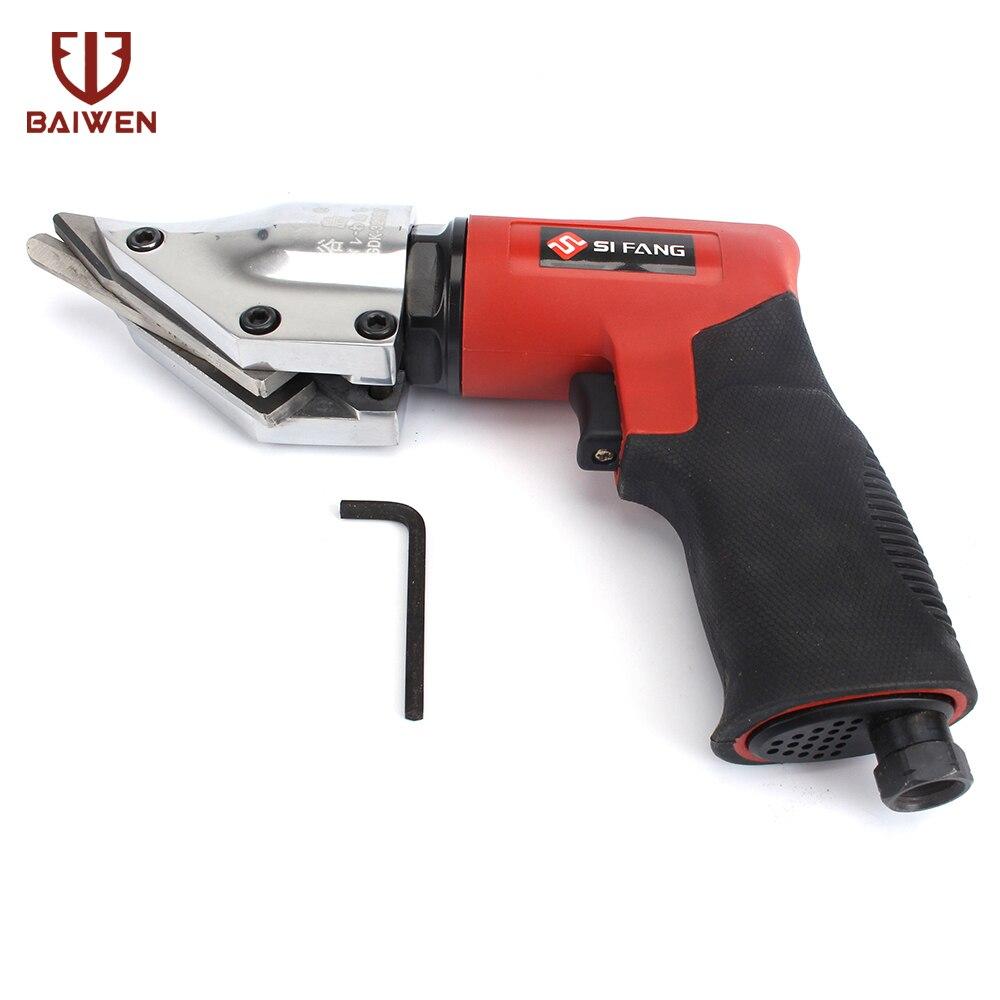 Force industrielle de cisaillement d'air de pistolet-poignée pour couper les ciseaux pneumatiques de composants électroniques en métal de 1.2-1.6mm