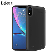 Leioua 5200mah Hot Battery Charger Case For Iphone 6 6s 7 8 External Power Bank Battery Case 6200mah For Iphone X Xr Xs Max