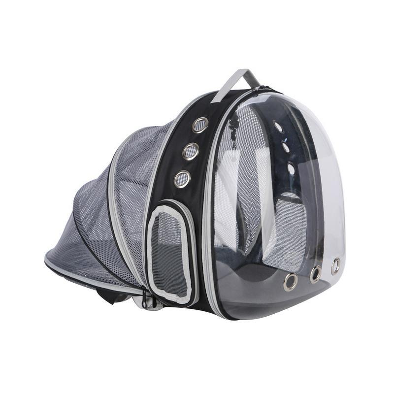 Portable Pet Cat Backpack Foldable Multi Function Pet Dog Carrier Bag Large Space Capsule Bubble Shoulder