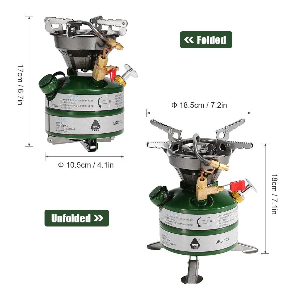 BRS новый портативный открытый цельные газовые горелки плита газовая плиты Мини топливо Кемпинг Примус для кемпинга пикника - 4