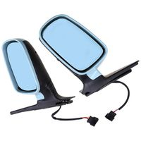 Car Styling Rearview Side Mirror Blue Lens Assembly For V w Golf/R32/G ti/Rabbit 2004 Car Rear View Mirror