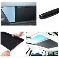 Black Skylight shutter Sunroof sunshade curtain For Audi Q5 for VW Sharan style Tiguan