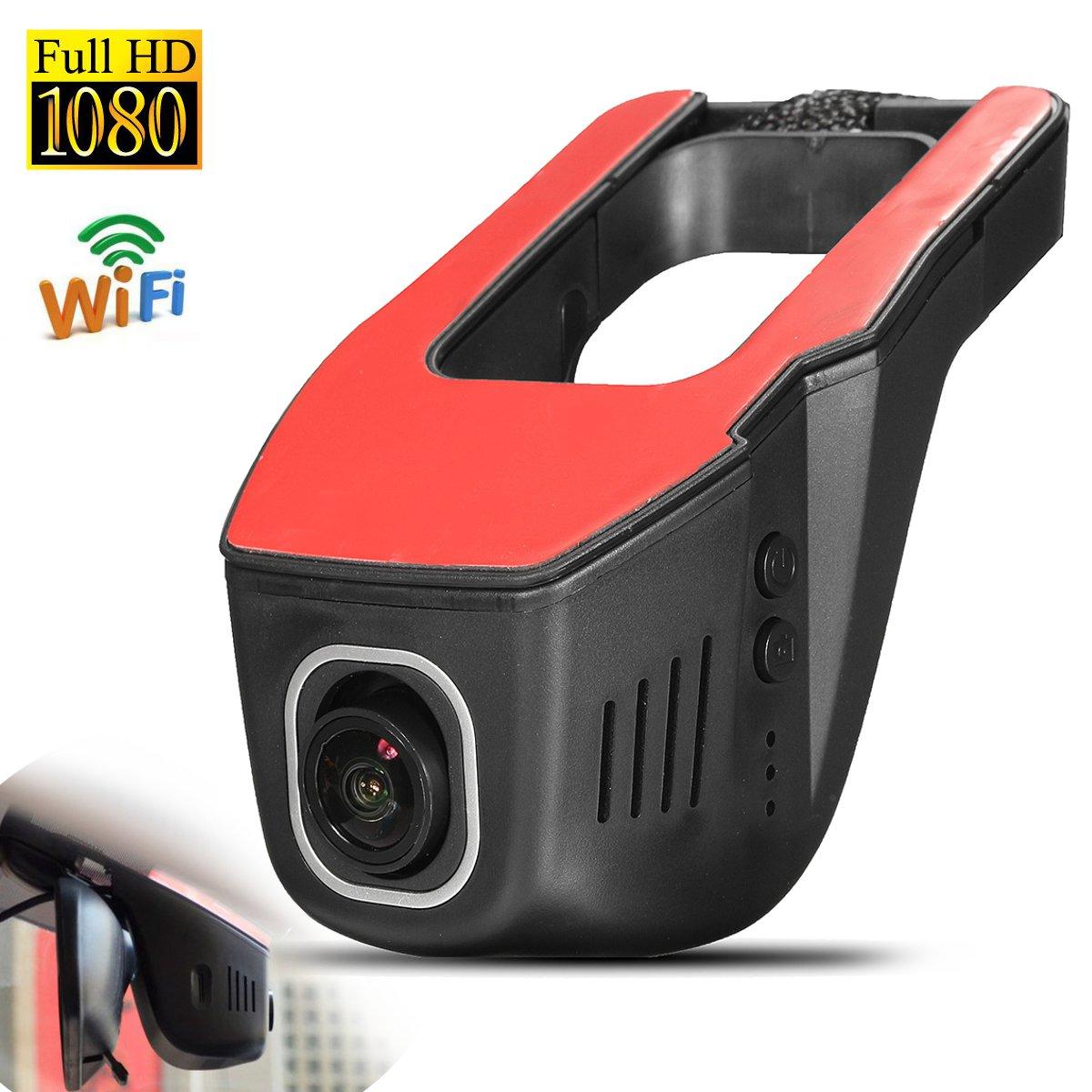 Voiture DVR Cam 1080HD Nuit Vision Dash Cam Dashcam Dash Caméra Auto Caméra Wifi Voiture Caméra Auto Enregistreur G- capteur