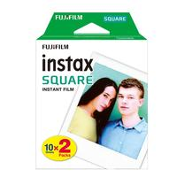 20 Sheets for Fujifilm Instax Square Film Daylight White Edge Photo Paper for Instax SQ10 SQ6 Instant Camera Share SP 3 Printer