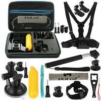 PULUZ 20 in 1 Accessories Combo Kit for GoPro Hero 6,5 Black, Hero Session,Hero 5,4,3,3+,Session,GoPro Fusion,AKASO,SJCAM,DBPO