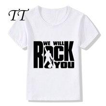 We Will Rock You Queen Kids T-Shirt Boys/Girls