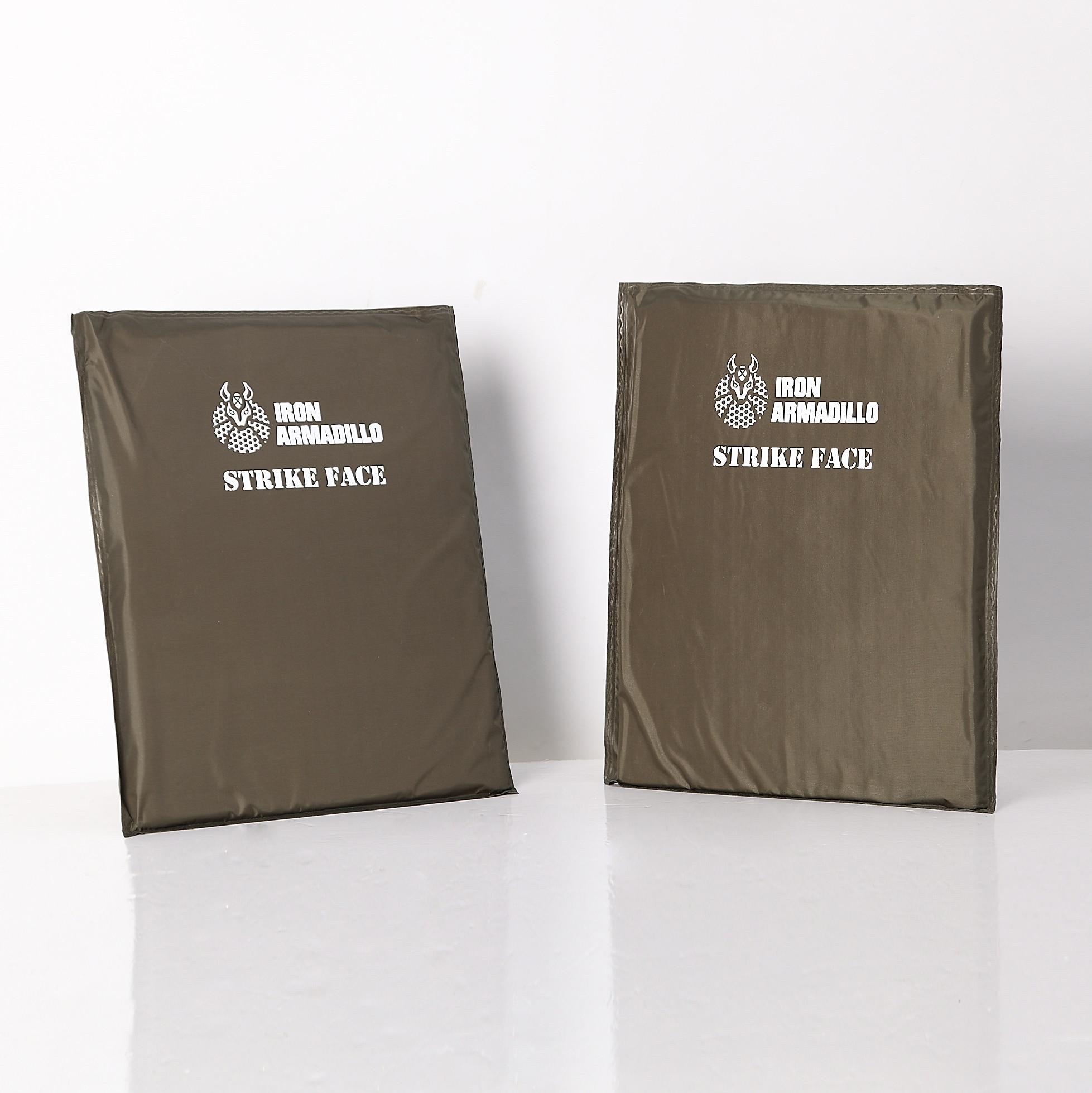 AA Shield Bulletproof Soft Panel Body Armor Inserts Plate UHMWPE Core Self Defense Supply Ballistic NIJ Lvl IIIA 3A 11x14 Pair