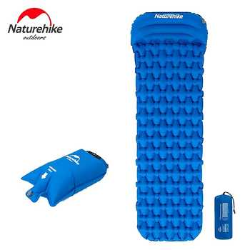 2019 Naturehike New Camping Mat Ultralight Sleeping Pad With Pillow Outdoor Inflatable Mattress Tent Mat - DISCOUNT ITEM  43% OFF All Category