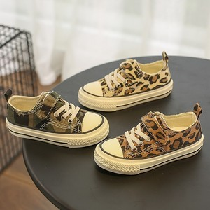 Image 5 - Babaya Children Shoes For Girls Sneakers 2019 Spring New Fashion Kids Canvas Shoes Boys Autumn Student Casual Leopard Shoes