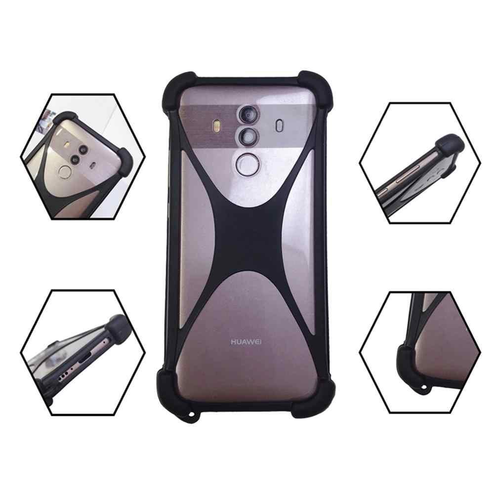 ซิลิโคนเคสสำหรับ Ulefone Armour Universal สมาร์ทโฟนกันชนโทรศัพท์สำหรับ Ulefone Armor 5 มือ Funda