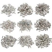 100 шт. Олова покрытием Медь Материал неизолированные клеммы 0.5mm2-6.0mm2 обжимной Наконечники конец шнура питания электрического кабеля обжимной соединитель