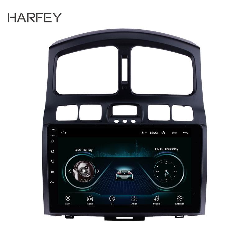 Harfey AUX MP3 Bluetooth стерео для 2005 2015 hyundai классический Santa Fe 9 Android 8,1 Штатная gps навигации DAB + ТВ тюнер