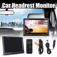 9 inch Digital Car DVD Headrest Monitor Player TFT LCD HDMI 1080P Monitor HD Digital LCD Screen Headrest Monitor car audio