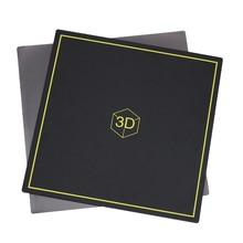 3d принтер с подогревом каркас кровати, 300×300 мм Новая гибкая Магнитная кровать сборная пластина 2 в 1 для CR-10