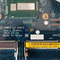 נייד מחברת MXM3Y 0MXM3Y CN-0MXM3Y w I5-4200U CPU VBW00 LA-9981P עבור Dell Inspiron 15R 5537 3537 מחברת מחשב נייד PC Mainboard Motherboard (3)