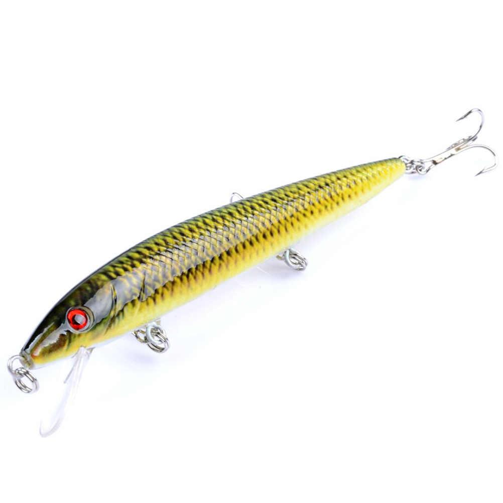 4 шт Окрашенные Пластиковые наживки рыболовные блесны окрашенные серии Bionic приманки из твердого пластика жизни как Swimbait (набор из 4 цветов)
