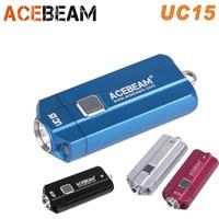 ACEBEAM UC15 EDC Torch CREE XP L2 XPE2 Nichia LED max. 100lm torch beam distance 107m with red UV light EDC pocket flashlight