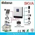 5kva 4000 Вт гибридный солнечный преобразователь DC48v в переменный ток 220в/230В с солнечным контроллером заряда pwm50a/MPPT60A/MPPT80A
