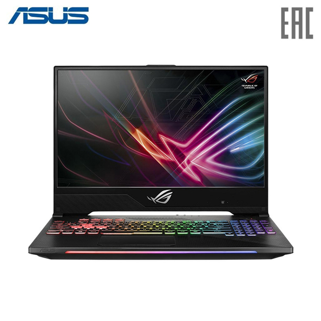 "Ноутбук ASUS ROG GL504GM Intel i7 8750H/8Gb/1Tb + PCIE NVME 256G M.2 SSD/NO ODD/15.6"" FHD Anti-Glare IPS/NVIDIA GeForce GTX1060 6GB GDDR5/Wi-Fi/No OS Black (90NR00K2-M07320)"