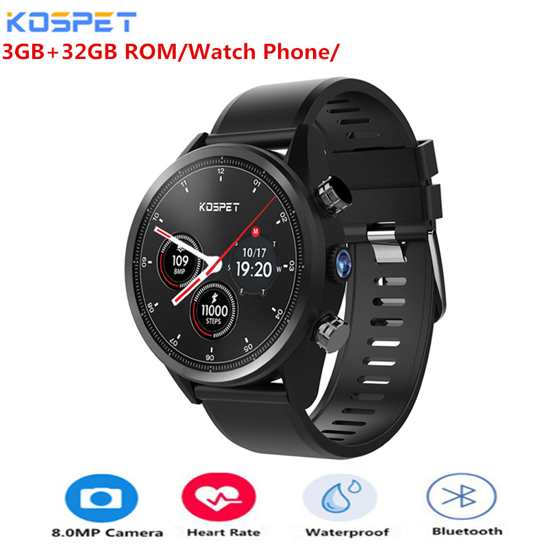 Kospet Hope 4G Smartwatch Phone 1.39 inch Android 7.1