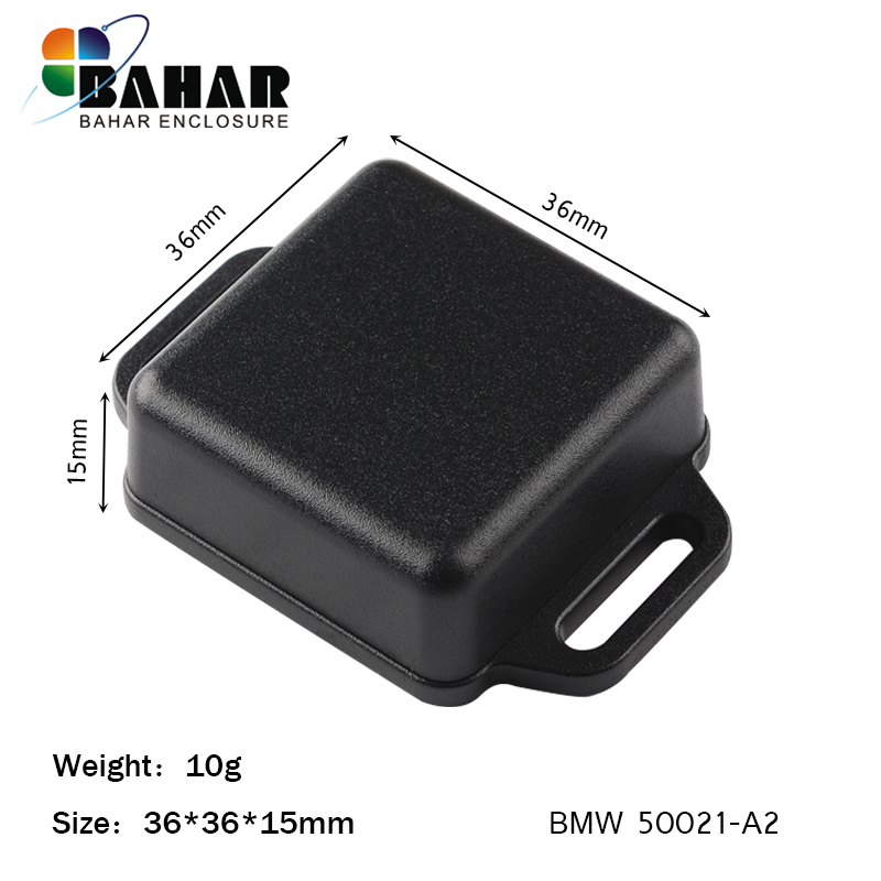 Bahar Wall mounting electronics plastic ABS 100 pieces enclosure from Bahar Enclosure 36 36 15mm BMW50021