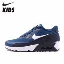 free shipping eef22 15f3a Nike Air Max 90 cojín de aire de primavera 2019 zapatos casuales zapatos  para niños y niñas  869950-402