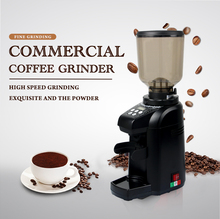 ITOP Coffee Grinders Commercial Coffee Bean Milling Machine 500g Coffee Burr Grinder 180W Black Color best price bulk green coffee bean extract 500g