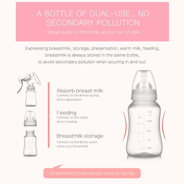 Breast pump Baby nipple Manual vacuum