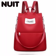 Female Oxford Backpack Bags Cloth Both Shoulders Fashion Waterproof Bag For Woman Large Capacity Bagpack