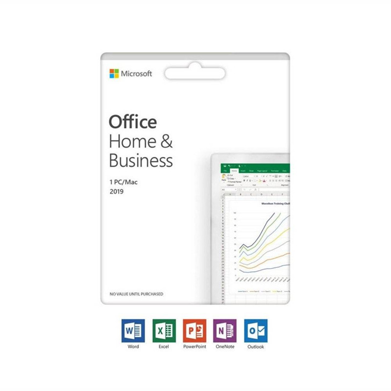 Image 2 - Microsoft Office Home & Business 2019 Product Key Code 1 User License Retail Boxed Compatible with Mac Windows-in Office Software from Computer & Office