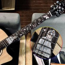 Fingerboard Fretboard Inlay Stickers Flanger PVC Decals Flangerra Decoration For Electric Acoustic Bass Accessories