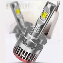 Krator 2PCS H4 H7 H11 H8 H9 9005 HB4 9006 HB3 LED Headlight Bulb Conversion Kit XHP50 100W 12000LM 6000K White LED Headlight