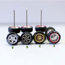 Model Rubber Scale Wheel