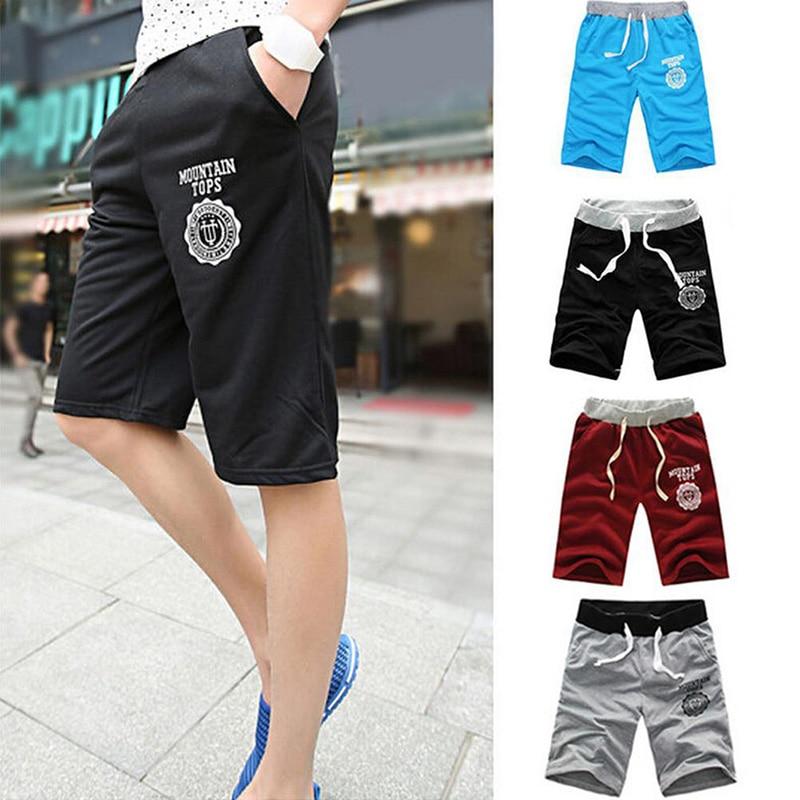 d45224b038 Sports Shorts Loose Knit Straight Casual Pants Cotton Men'S Shorts Five  Pants