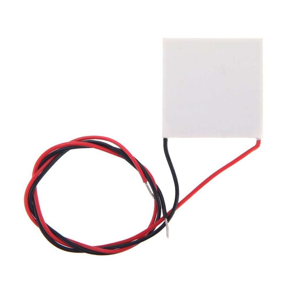 40mm Thermoelectric Power Generator High Temperature Generation Elements Peltier Module Teg High Temperature 150°c White Precise 40 Adhesives & Sealers