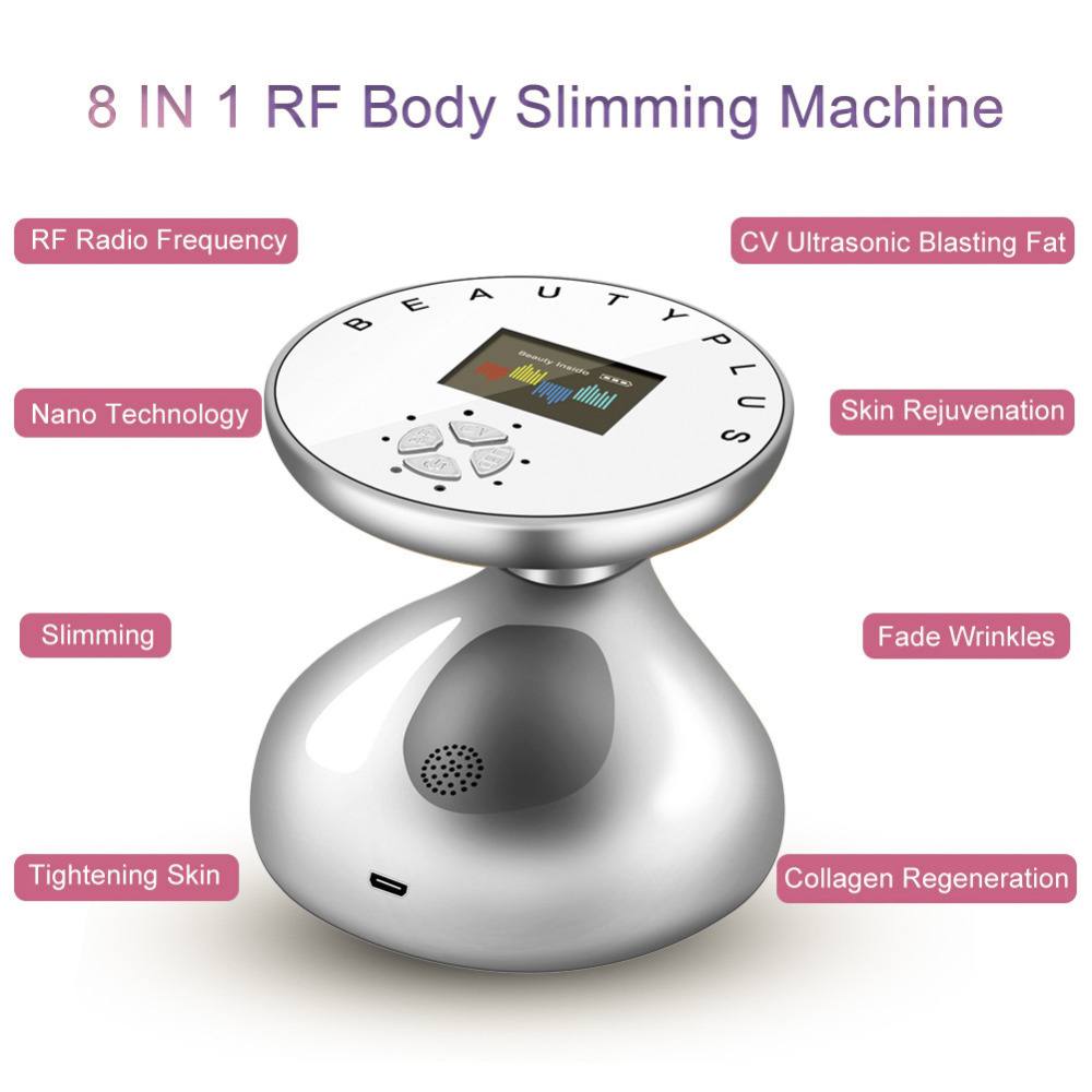 Image 4 - RF Cavitation Ultrasonic Slimming Massager Domestic Fat Anti Cellulite Device Skin Tightening Weight Loss Beauty Machine-in Face Skin Care Tools from Beauty & Health