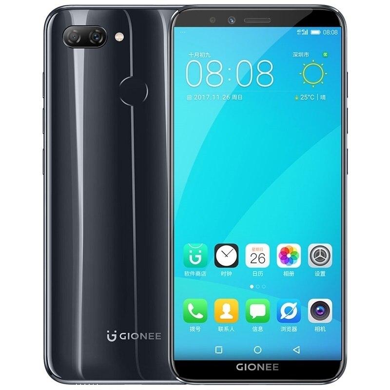Gionee S11 Lite Android 7,1 4G смартфон MSM8937 Snapdragon 430 Octa Core мобильный телефон 5,7 4 GB Оперативная память разблокировать отпечатков пальцев телефоны