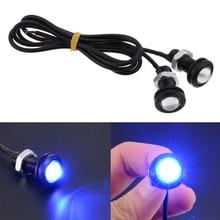 12V 2Pcs/Set Blue 10W LED Boat Plug Light Waterproof Drain Marine Underwater Fish Parts Accessories