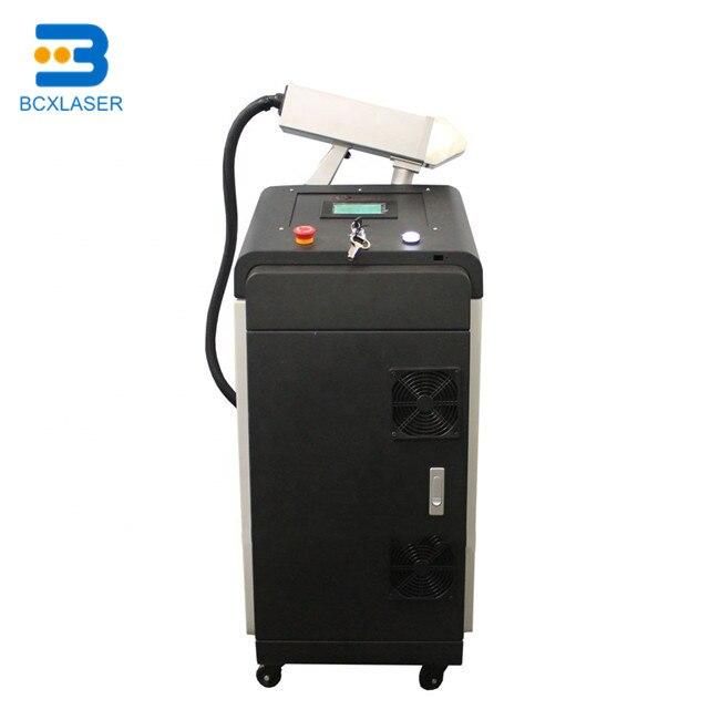 Wuhan meilleur service 50 W/100 W/200 W fibre laser machine de nettoyage pour pièces/nettoyage mental
