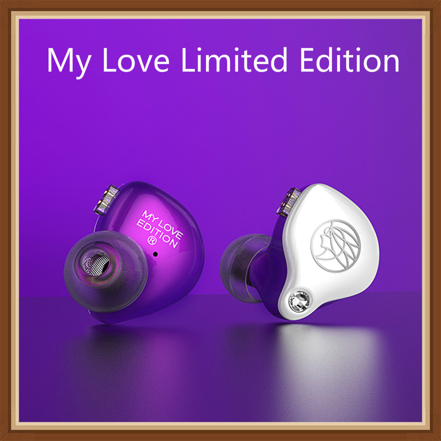 TFZ 2019 Mylove Limited Edition Commemorative Edition In Ear Hifi Music Monitor DJ Studio Earbuds Earphones