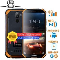 DOOGEE S40 lite телефон NFC Прочный противоударный мобильный сотовом телефоне android 9,0 4G смартфон 5,5 дюймMTK6739 4 ядра телефонов
