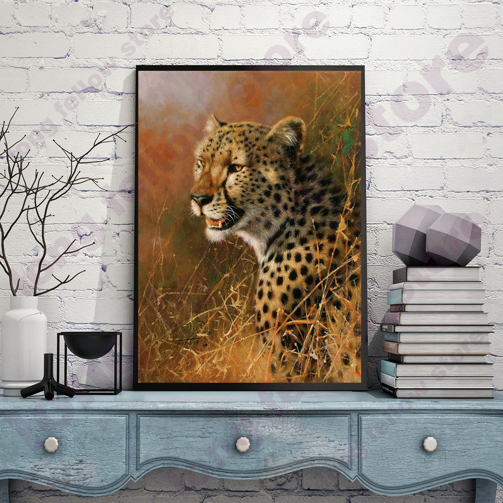 Leopard Bedroom Ideas For Painting: Aliexpress.com : Buy Animal Coloring By Numbers Cool