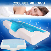 1 Pcs Memory Foam Cool Gel Pillow Summer Ice cool Anti snore Neck Orthopedic Sleep Pillow Cushion+Pillowcover For Home Beddings