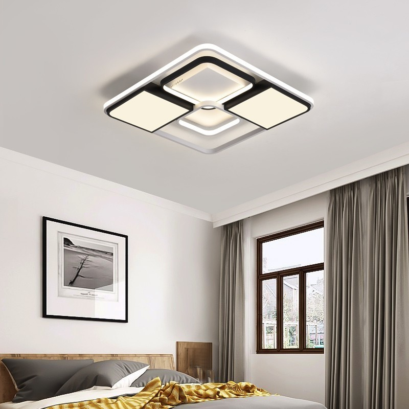 Image 5 - New Modern LED Ceiling Lights Living Room Dining Bedroom Luminarias Para Teto Lighting Lamp For Home Fixture Lamparas De Techo-in Ceiling Lights from Lights & Lighting