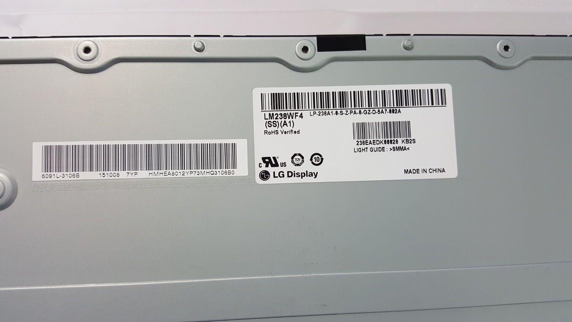 Nouveau modèle d'écran LCD LM238WF4 SSA1 pour HP EliteOne G4 tout en un PC - 3