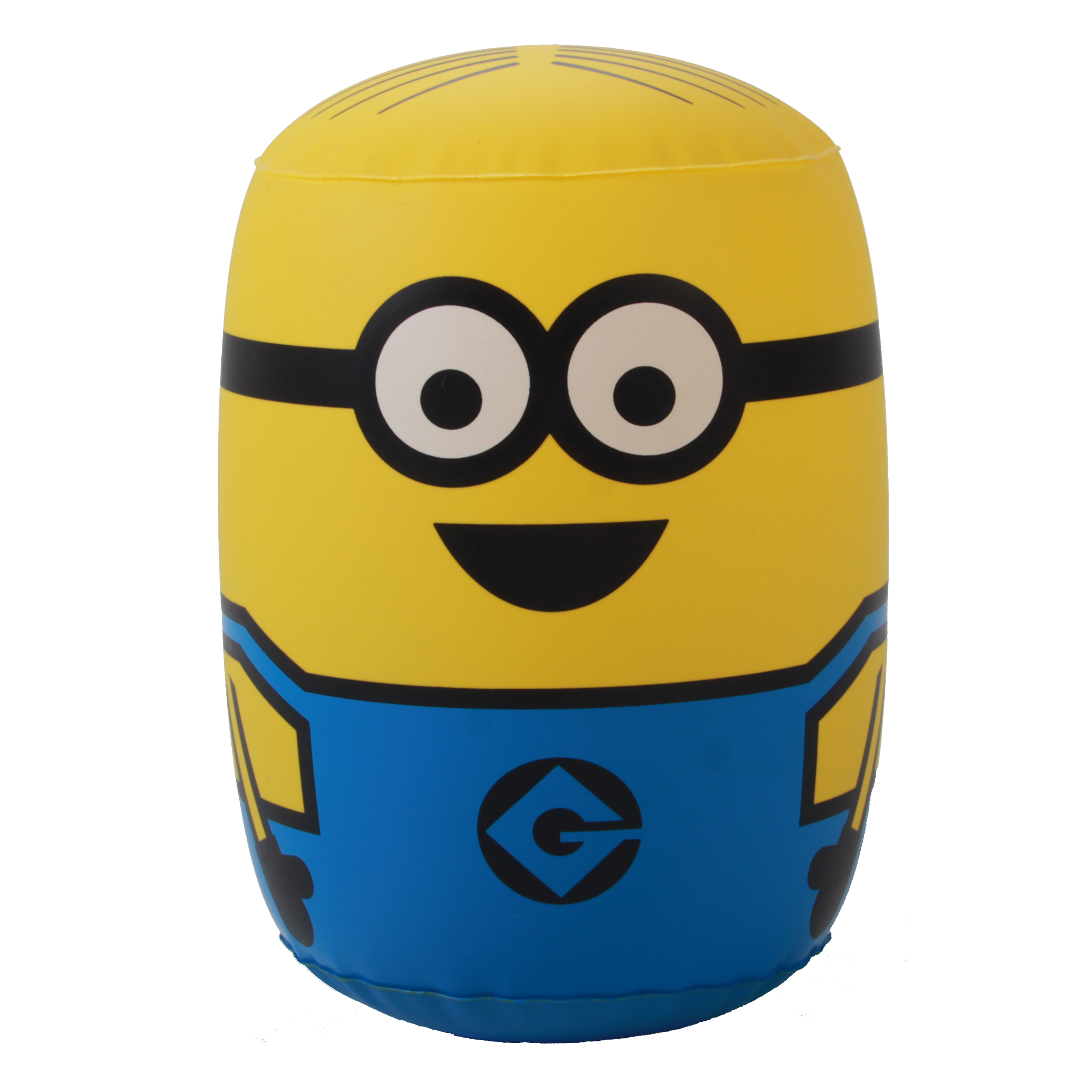 Hot Sell Roly Poly Active Figure 18CM Minion Mini Tumbler Thickened Despicable Me Roly Poly PVC Inflatable Kids Toy